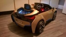 KIDS ELECTRIC RIDE-ON 'BMW i8' GREAT FUN FOR THE KIDS..., HALF PRICE!, LIGHTS UP. TEL.07803366789