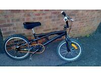 """black bmx bike 20"""" wheels"""