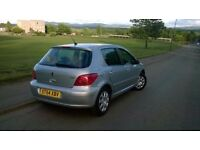 Peugeot 307, Full Year M.O.T.! Excellent condition