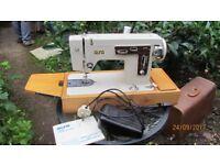 ELECTRIC ZIG ZAG SEWING MACHINE - ALFA