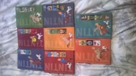 Complete Adventures of Tintin.