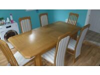 G-Plan Extending Dining Table and 6 Chairs