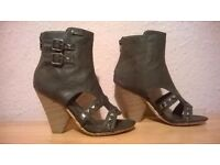 Gladiator Studded Booties / Ankle Boots by Glorious 3/36