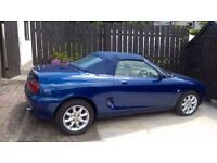 MGF 1.8 soft top 1999 with low mileage