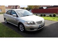 Toyota Avensis in superb condition for urgent sale due to new company car
