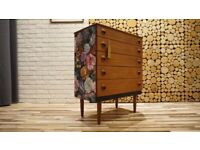 Vintage Chest of Drawers,Cupboard,Sideboard (FREE DELIVERY)
