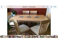 Dining room table & 6 chairs £250 ONO