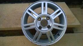 "14"" Ford Fiesta Mk5 Zetec Alloy Wheel Only"