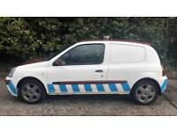 DIESEL VAN RENAULT CLIO CAMPUS SL15 DCI 1.5L (2007) year mot ready to drive away