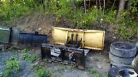 Bobcat snow plow skid steer snow plow