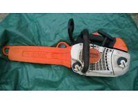 Chainsaw STIHL MS 201T petrol (top handle)