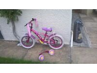 Apollo Daisychain Girls Bike Age 4-6 - 14inch