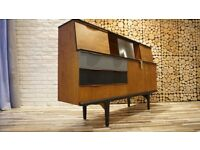 MID CENTURY SIDEBOARD , CUPBOARD, CHEST OF DRAWERS, VINTAGE ,RETRO (FREE DELIVERY CENTRAL SCOTLAND)