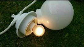 Garden / Marquee globe lights