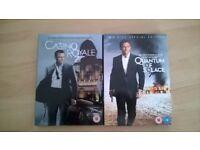James Bond DVDs x2 (Craig)