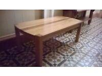 Oak Coffee Table