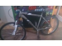 Got a giant mountain bike new forks and tyres swap sell looking for dewalt tools or a phone s