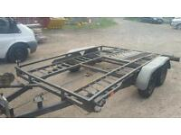 car trailer recovery transporter