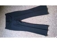 New womans black smart trousers size 10