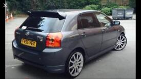 Toyota Corolla Alloys Only! Not Car!!