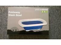 Foldaway space saving bowl