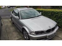 BMW 318 CI COUPE IN METALLIC SILVER AUTOMATIC BOX 12MONTHS MOT