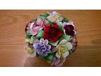royal doulton bowl of flowers.