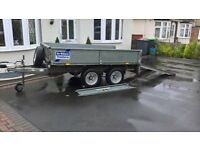 ifor williams ramped trailer
