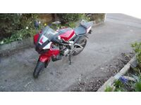 2011 red reiju rs3 125 cc motorcycle [SPARES OR REPAIR]