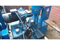 hydraulic power packs for sale used 3 phase 4 kw to 11kw various units available