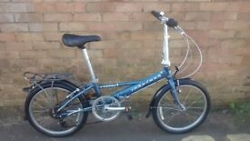 RIDGEBACK LIGHT WEIGHT FOLDING BIKE