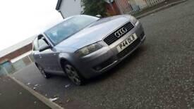2004 Audi A3. Diesel. Private reg. 12 months mot