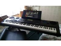 Casio wk-7600 keyboard and stand