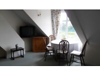 Lovely character flat furnished 0ne bed near Sutton [BR] highly popular road. nice view.