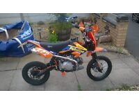 65 plate superstomp road legal pitbike