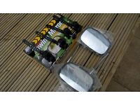 Car Wide Mirrors - for Towing Trailer or Caravan