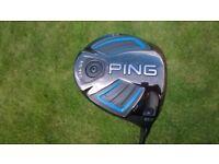 Ping G LS TEC Driver 10.5 Degree Right Hand Soft Regular Flex - New Condition