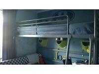 Ikea SVÄRTA single loft bed