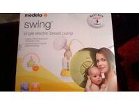 brand new swing electric breast pump