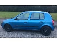 CHEAP AUTOMATIC CLIO 1.4L (2002) low 46k miles year mot