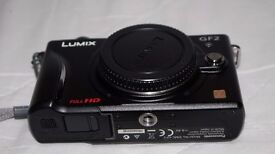 Lumix GF2 Camera with 14- 42 lens and all kit accesories