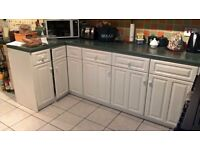 Magnet White Kitchen Units Free to collector- NO LONGER AVAILABLE