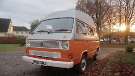 VW T25 high top campervan 1.9L petrol 1987