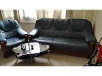 Elegant 3 seater sofa+chair