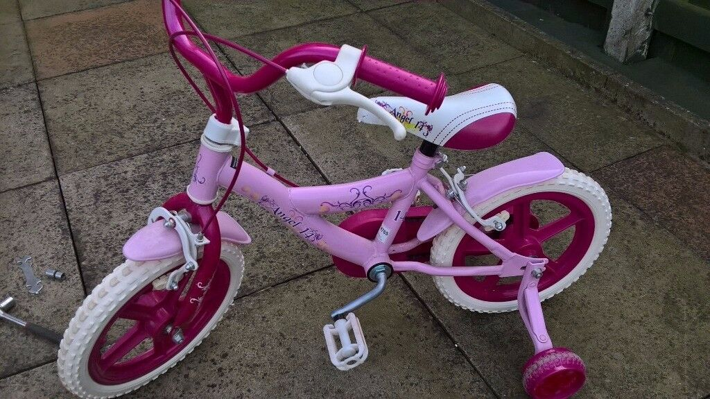Girls pushbike for sale