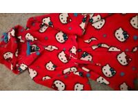 miss kitty dressing gown age 3-4
