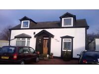 7 BEDROOM DETACHED HOUSE/B&B - IDEAL FOR LIFESTYLE BUSINESS IN LARKHALL, SOUTH LANARKSHIRE