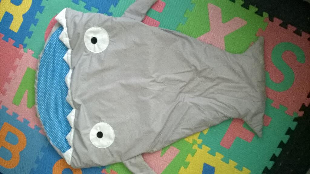 Baby sleeping bag - Shark