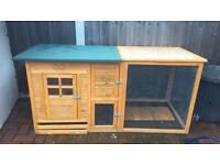 Rabbet shed also for chickens