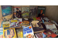 Job lot Books (Novels, Crims, Humour and Fantasy)